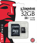 Kingston 32GB 45MB Micro SD SDHC UHS-I Card + Adapter for samsung phone UK