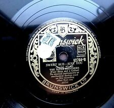 0768/ MILLS BROTHERS-Sweet Sue, just you-I´ve found a new baby-VOCAL-Schellack