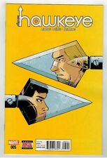 ALL-NEW HAWKEYE #5 - JEFF LEMIRE STORY - RAMON PEREZ ART - MARVEL NOW - 2016