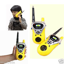 2PCS Children's gifts Toy Walkie Talkie Child Watches Interphone Outdoors