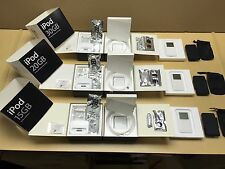 COLLECTOR SET of Working Apple iPod 15GB+20GB+30GB with box - Rare Find