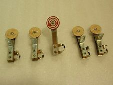 WILLIAMS COMET 85 PINBALL MACHINE PLAYFIELD LOT OF FIVE FIXED ROUND TARGETS!