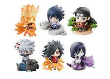 6pcs/set Naruto Shippuden Uzumaki Naruto Uchiha Sasuke Obito Itachi Figure