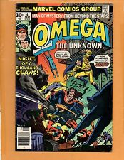 OMEGA THE UNKNOWN # 4  VF+