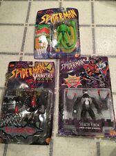Lot/3 Marvel Comic Spider-Man Action Figures Scorpion Vampire Stealth Venom