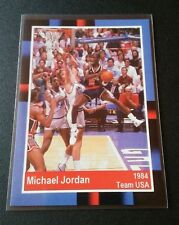Michael Jordan 1985 Promo Card Team USA Trading Card NBA Rar