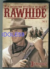 Rawhide - Clint Eastwood, 3 episodes, DVD