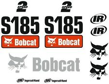 (ORIGINAL LOOK) BOBCAT S185 FULL DECAL STICKER SET KIT SKID STEER
