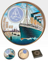 British Virgin Islands Titanic Auslauf 2012 42,2 Gramm 2$ 999 Bronze Box & Zert.