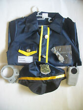 iPlay iLearn Police Officer Role Play Costume Set 3-6 Years Dress Up