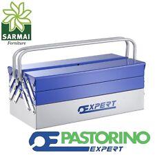 Cassetta estensibile lunga Pstorino Expert portautensili in acciaio per attrezzi