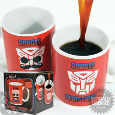 Transformers Robots in Disguise Heat Change Mug - Funny Gift For Him Moustache