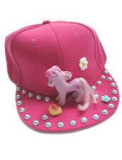 CUTE PONY FLAT CAP HAT PINK DECODEN DECO KAWAII COSPLAY KERA DIY