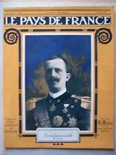 █ Le Pays de France N° 34 du 10 Juin 1915 Le Matin █