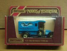 Matchbox Models Of Yesteryear (Y-25) 1910 Renault Typeag, 1:38, Mint w/Box!