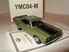 Matchbox YMC04-M 1970 Plymouth Road Runner Diecast Model in 1:43 Scale.