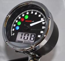 Digital Velocímetro SPEEDO, combustible, Voltios, Reloj luces de advertencia, 86mm TnT01s Koso