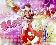 BRODUS CLAY WWE SIGNED AUTOGRAPH 8X10 PHOTO #4 W/ PROOF