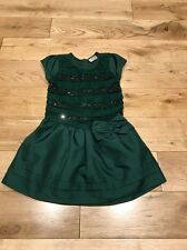 Next Green Party Dress Aged 4-5