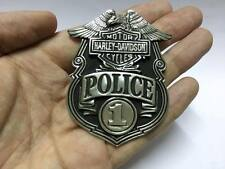 Harley Davidson Eagle Police 1 Pin Broach Brooch Motorcycle Belt Biker HTF VTG