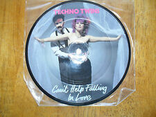 Techno Twins 45rpm Picture Disc Can't Help Falling In Love / Kings & Queens Of
