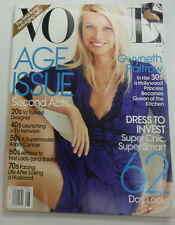 Vogue Magazine Gwyneth Paltrow Dress To Invest August 2010 NO ML 070315R