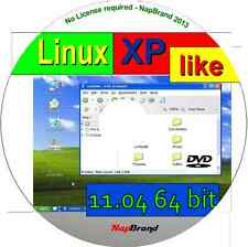 Xplike 11.04 - Un Win XP Parecido Linux Operativo/S, Disponible AS 64 Bit Live