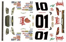 #01 Danny O'Quinn VENOM energy Drink 2013 Chevy 1/32nd Scale Slot Car Decals