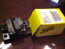 Bussman DC Circuit Breaker 120 Amp Surface 185120F Buss Cooper Bussmann CB185F-