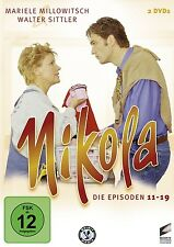 MARIELE MILLOWITSCH - NIKOLA BOX 2-EPISODE 11-19  2 DVD NEU