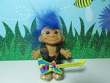 """MOHAWK ROCKER - 5"""" Russ Troll Doll - NEW IN ORIGINAL WRAPPER w/FLAW"""