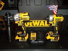 DEWALT DCK299P2 20V MAX XR Li Ion Hammerdrill-Impact Driver DCD996 DCF887 Kit