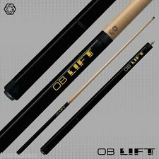 NEW OB LIFT PRO Jump Cue - 3 Piece Jumper - Black Stained Maple - Phenolic Tip