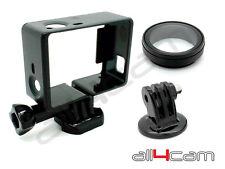 Estándar Marcos Soporte UV Objetivo y Trípode Set para GoPro HERO3+ HERO4