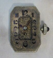 Vintage Blancpain Movement with Hands, Crown & Dial For Parts, Not Running