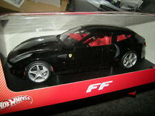 1:18 HOT WHEELS FERRARI FF NERO/BLACK OVP