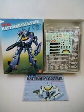 90's Bandai 1/72 scale Macross VF-1S Roy Focker NMIB Skull Leader Kit Robotech