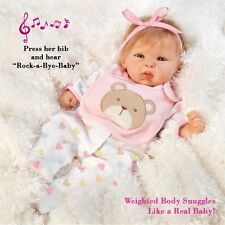 Newborn Baby Doll Reborn Lifelike Weighted Realistic Infant Toy Clothes Teddy