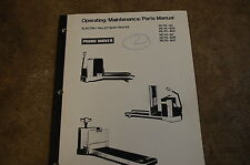 BT Prime Mover PE PL 40 60 R C Owner Operator Operation Maintenance Parts Manual