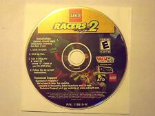 Lego Racers 2+ FREE/Fast Shipping (PC). Disc/Disk only. Computer game