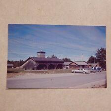 Vintage Postcard The Lore Rogers Logging Museum Complex, Patten, Maine