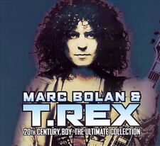 20th Century Boy: The Ultimate Collection; T-Rex 2002 CD, Glam, Marc Bolan, Hip-