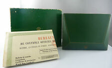 ROLEX 1957 ANTIQUE ORIGINAL BOX, CASE WITH ORGINAL PAPERS
