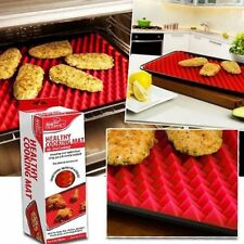 Silicone Pyramid Baking Mat Pan Oven Non Stick Cooking Tray Fat Reducing Sheets