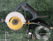 """4-1/2"""" Electric WET and DRY MARBLE / MASONRY / TILE CUTTING CIRCULAR SAW UL List"""