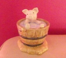 RARE BESWICK BEATRIX POTTER FIGURE - YOCK YOCK IN THE TUB BP10a - PERFECT !!