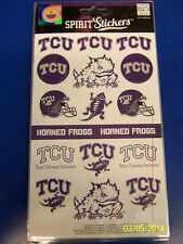 TCU Horned Frogs NCAA University College Gift Logo Decals Spirit Stickers