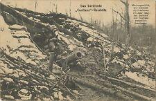 German WW1 Postcard 'The Famous Conflans Naval Gun' 1914-1918 (533)
