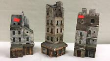 Collectable Set of 3 J P Gault Ceramic Houses Lot 188