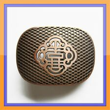 IRISH CELTIC KNOTS BRONZE COLOR ANTIQUE MEDIAVAL BELT BUCKLE